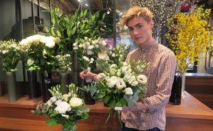 Audric Ronfort, 21 ans, meilleur jeune fleuriste de France 2019