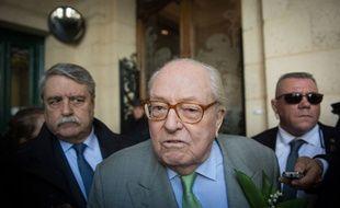 Jean-Marie Le Pen, le 1er mai 2018.