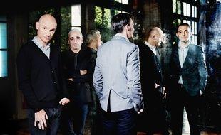 Gaétan Roussel, Arnaud Samuel et Robin Feix du groupe Louise Attaque