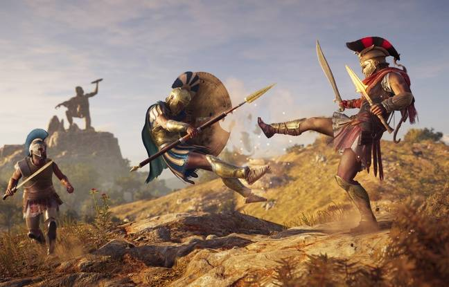 Outre la mythologie le jeu apporte une touche de fantastique dans les