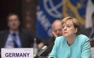 Angela Merkel au G20 en Chine