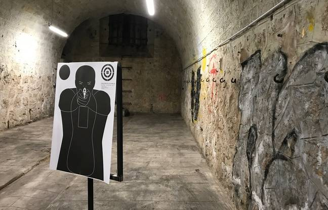 Un stand de tir virtuel se trouve dans les sous-sols du fort de la Batterie russe de Nice.