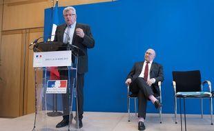 Ici aux côtés du ministre Michel Sapin, l'ancien secrétaire d'Etat en charge du Budget est candidat dans la même circonscription de Meurthe-et-Moselle que celle qui l'a vu élu en 2012, avant sa nomination au gouvernement. Mais la tâche s'annonce ardue.