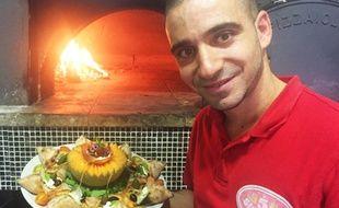 Les pizzas en forme d'étoile, l'une des spécialités de Jpetto.