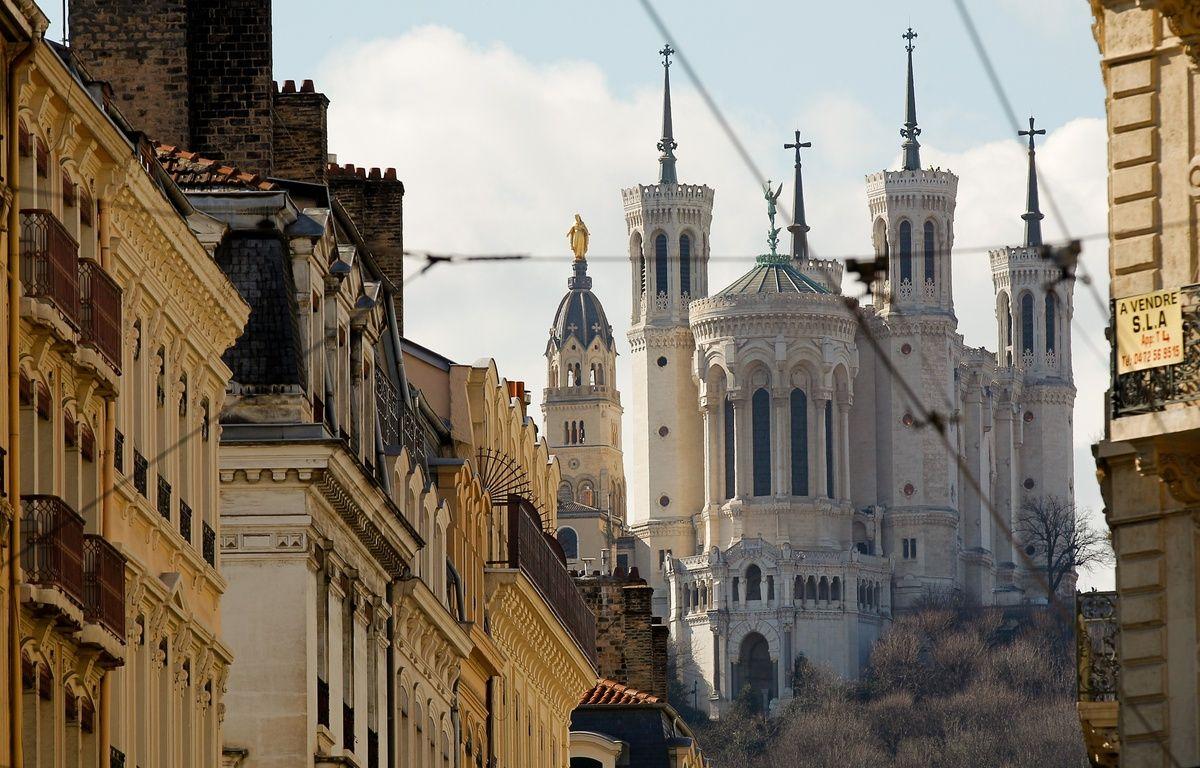 La baslique de Fourvière de Lyon, le 7 mars 2013. CYRIL VILLEMAIN/20 MINUTES – C. VILLEMAIN/20 MINUTES