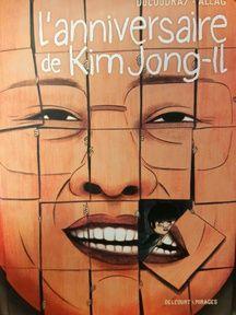 L'anniversaire de Kim Jong-il. Delcourt. 17,95 euros.