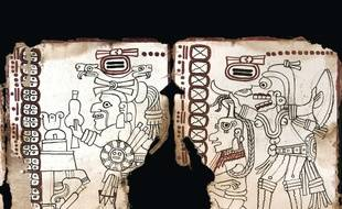 Le « Codex Grolier » est le plus vieux texte Maya jamais découvert.