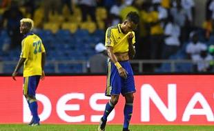 Pierre-Emerick Aubameyang lors de la CAN avec le Gabon, le 22 janvier 2017.