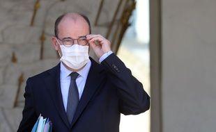 Jean Castex, le 29 juillet 2020 à l'Elysée.