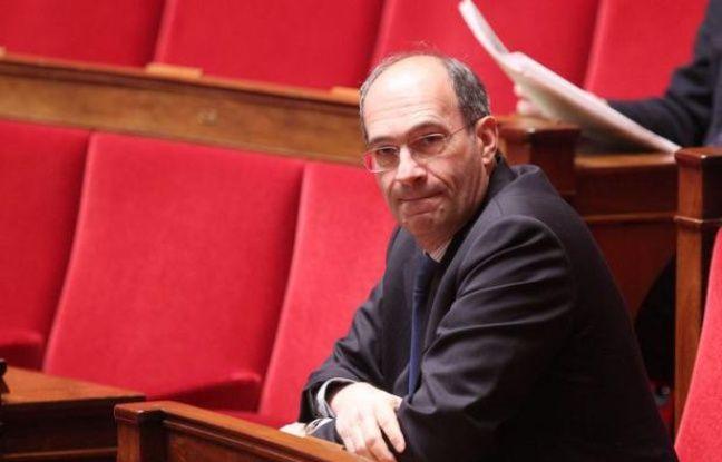 Eric Woerth, le 7 février 2012 à l'Assemblée nationale.