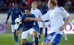 Yohan Cabaye lors du match de qualification pour le Mondial 2014 France-Finlande, le 7 septembre 2012.