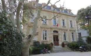 La Chambre des notaires à Marseille.