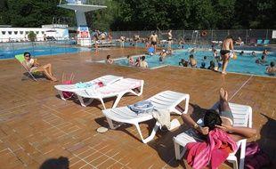 La piscine des Dervallières, à Nantes
