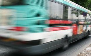 Un bus de la RATP - Illustration