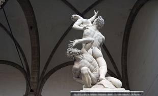 L'Enlèvement des Sabines par Giambologna, 1583