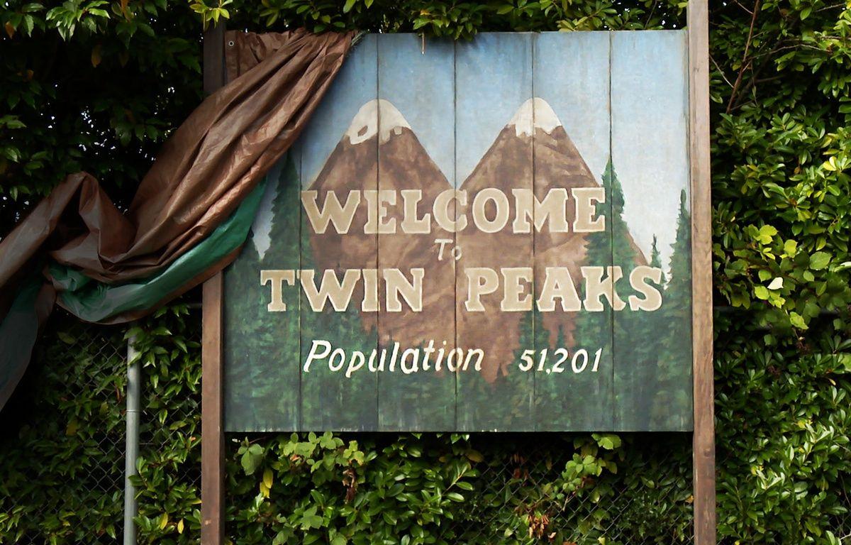 Le panneau d'origine de «Twin Peaks». – SHOWTIME