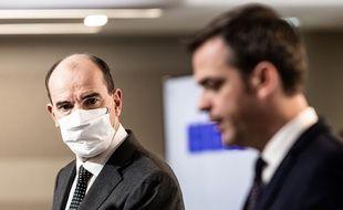 Jean Castex et Olivier Véran.