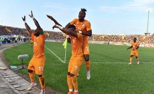 Les Ivoiriens lors des qualifications à la CAN