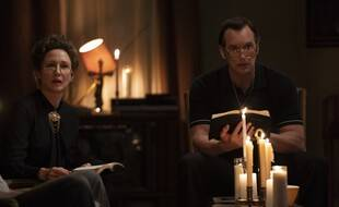 Vera Farmiga et Patrick Wilson dans « Conjuring 3: sous l'emprise du diable » de Michael Chave