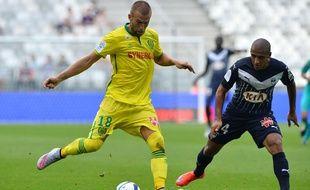 Duel lors du match Bordeaux - Nantes