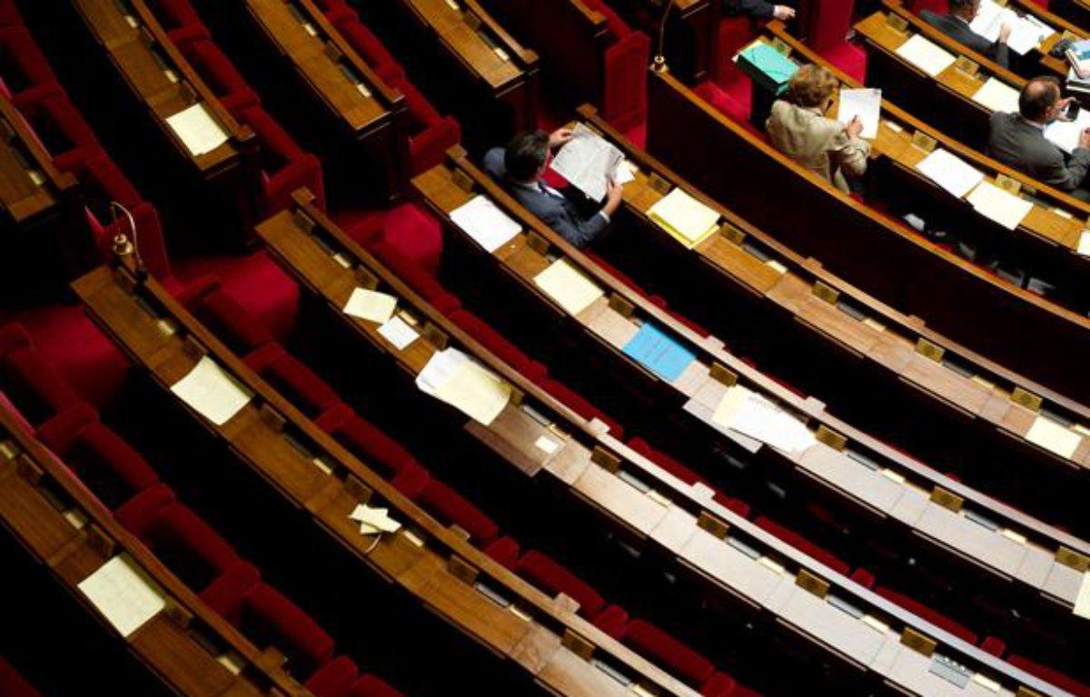 Les bancs de l'Assemblée nationale. – A. GELEBART / 20 MINUTES