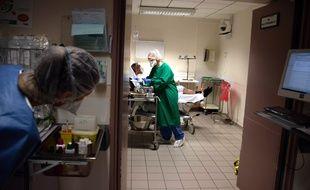 Un service hospitalier à Maubeuge (image d'illustration).