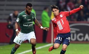 Habib Maïga, ici en novembre dernier lors d'une défaite (3-1) à Lille.