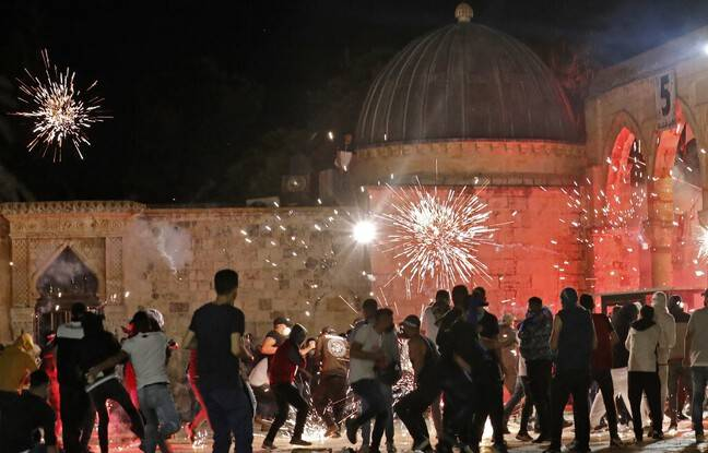 648x415 heurts eclate vendredi jerusalem entre palestiniens police israelienne faisant centaines blesses