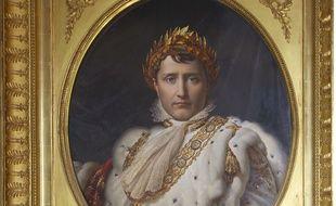 Portrait de Napoléon Bonaparte, par Francois Gérard, au musée delle Porcellane,  Florence, Italie