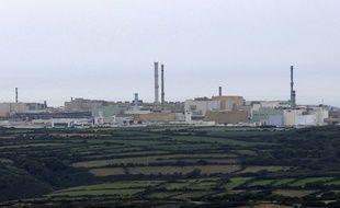 Le Centre de retraitement des déchets nucléaires d'Arèva à La Hague.