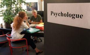 Illustration d'une consultation psychologique.
