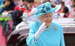La reine Elizabeth II à Londres le 16 juillet 2015.