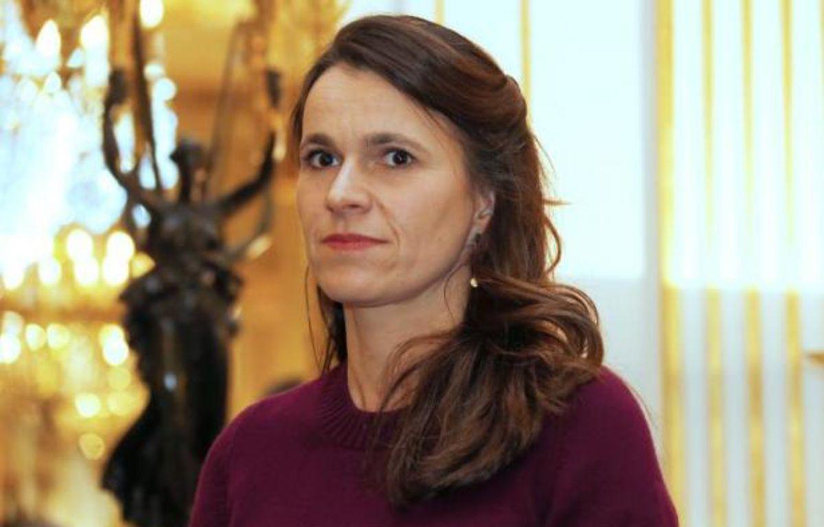 La ministre de la Culture Aurélie Filippetti, le 27 février 2014 à Paris – Thomas Samson AFP