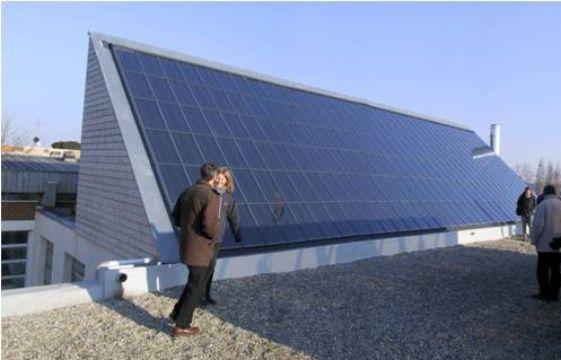Cop21 ungersheim le village qui vise l autonomie nerg tique for Chauffer une piscine solaire
