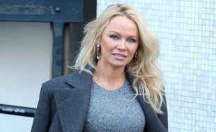 Pamela Anderson à Londres