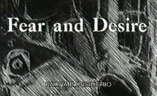 Capture d'écran de «Fear and Desire» de Stanley Kubrick (1953)