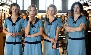 Nadia de Santiago, Ana Fernández, Maggie Civantos, Blanca Suárez dans la série «Las Chicas Del Cable».