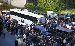 Le bus des joueurs du Havre a été caillassé à Ajaccio vendredi soir par une centaine de supporters corses.