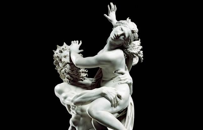 L'Enlèvement de Proserpine, du Bernin (1621-1622)