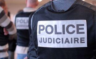 Police judiciaire. Illustration.