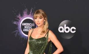 La chanteuse Taylor Swift aux American Music Awards 2019