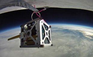 La Nasa teste des «phonesats», ici lors d'un vol de ballon expérimental.