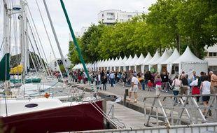 Lorient, pendant le festival Interceltique, en 2010.