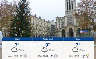 Météo Saint-Etienne: Prévisions du dimanche 10 février 2019