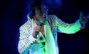 Freddy Ley rendait hommage sur scène à Elvis Presley depuis une quarantaine d'années.