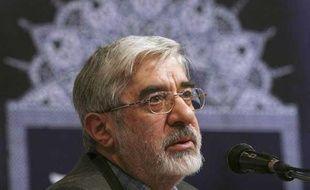 Hossein Moussavi, le 3 mars 2009.