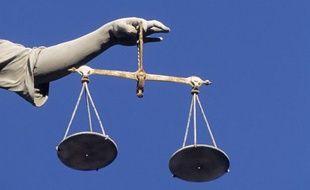 Illustration: La balance de la justice.