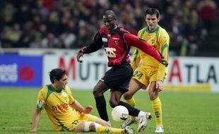 Le Nigérian John Utaka avait inscrit l'un des deux buts rennais lors de l'historique victoire à Nantes, le 4 janvier 2006.