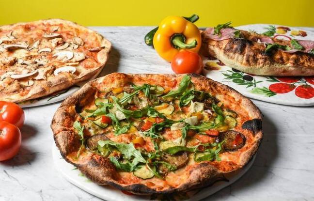 Les délicieuses pizzas de l'emblématique restaurant de Pantin