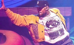 Le chanteur Chris Brown